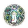 Mosaik Deckenleuchte mehrfarbig