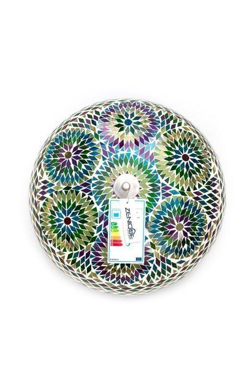 Mozaiek plafondlamp multicolour bohemian