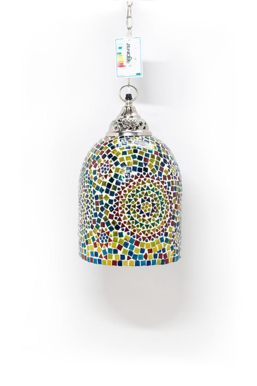 Mozaiek lamp multicolour Jaipur uit