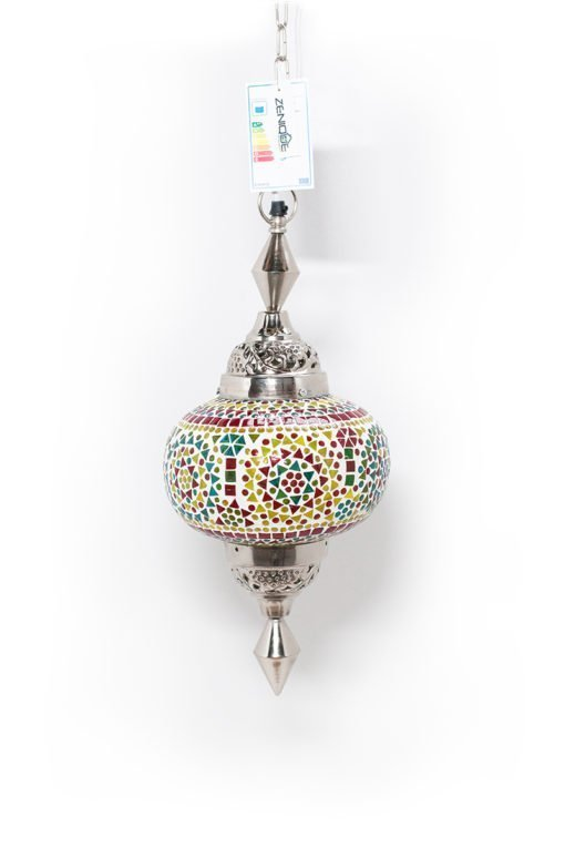 Oosterse lamp Gaya multicolour classic uit