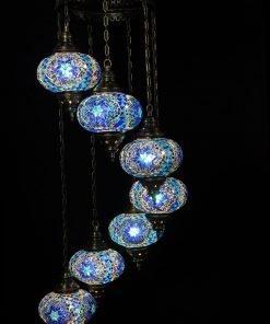 Türkische Lampe Blau