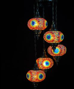 Túrkische Lampe Multicolor
