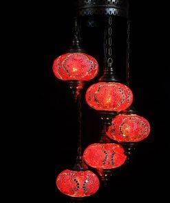 Türkische Lampe Rot