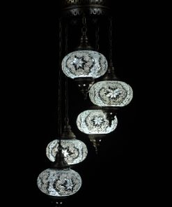Türkische Lampe Weiss