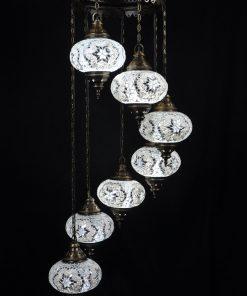 Orientalische Lampe Farbe Weiss
