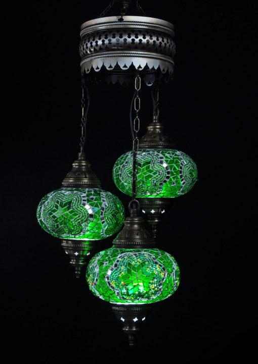 Türkische Lampe Grün