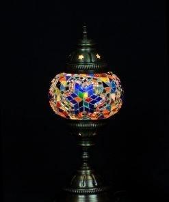Türkische Tischlampe Mehrfarbig - Lifestyle Trading