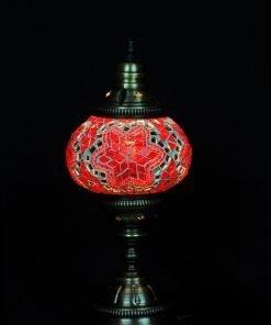 Türkische Tischlampe Rot - Lifestyle Trading