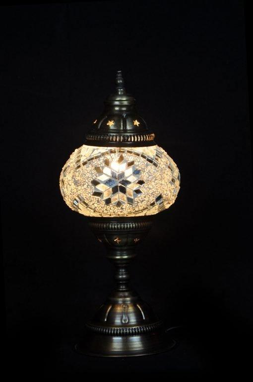 Türkische Tischlampe Weiß - Lifestyle Trading