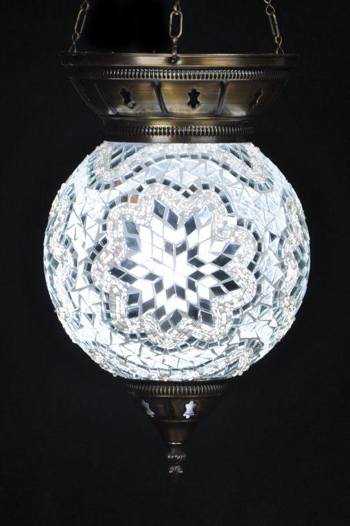 Turkse hanglamp wit