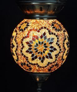 Turkse hanglamp bruin