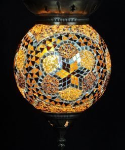 Turkse hanglamp bruin - Lifestyle Trading