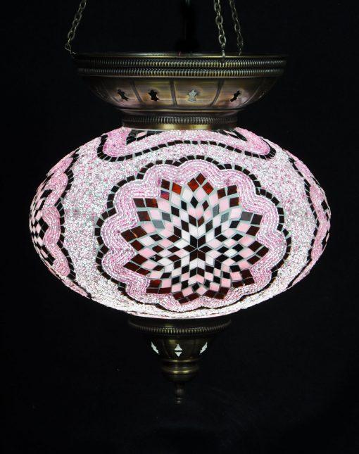 Türkische Hängelampe Rosa Ø 25 cm