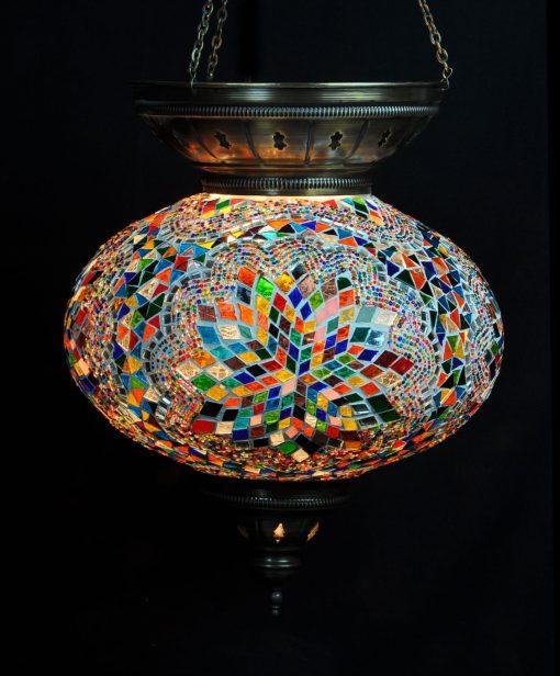 Turkse hanglamp multicolour