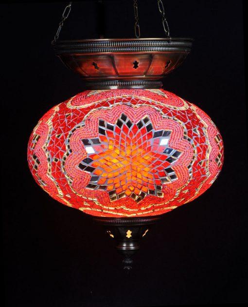 Türkische Hängelampe Rot Ø 25 cm