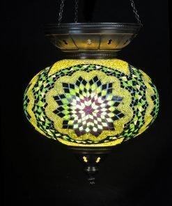 Turkse hanglamp groen