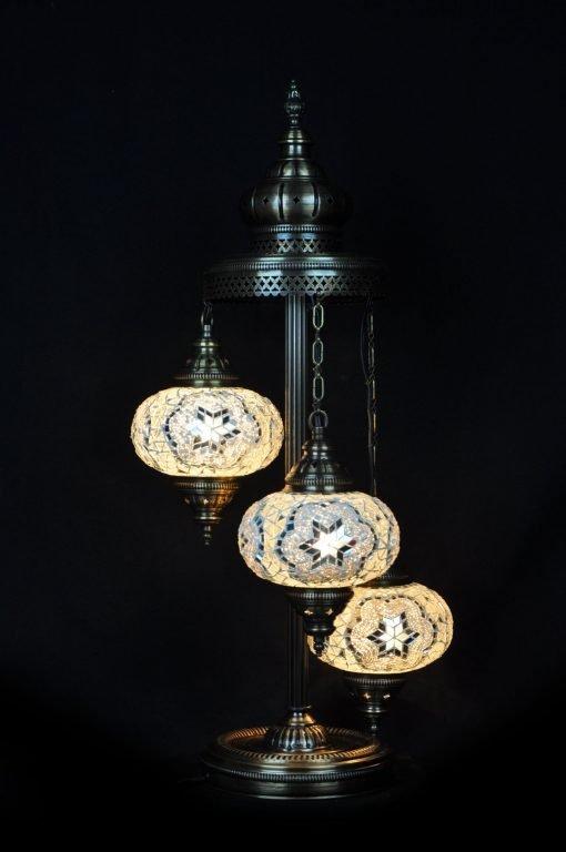 Turkse vloerlamp wit - Lifestyle Trading