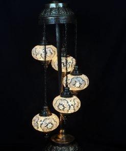 Türkische Stehlampe Weiß - Lifestyle Trading