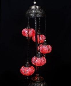 Turkse vloerlamp rood - Lifestyle Trading