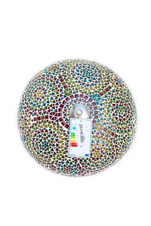 Oosterse mozaïek plafondlamp multicolour - Lifestyle Trading
