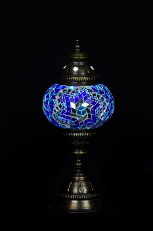 Türkische Tischlampe Blau - Lifestyle Trading
