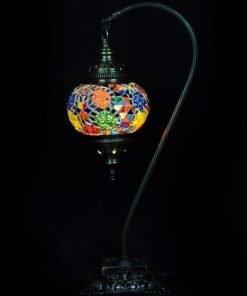 Türkische Tischlampe Mehrfarbig bogen - Lifestyle Trading