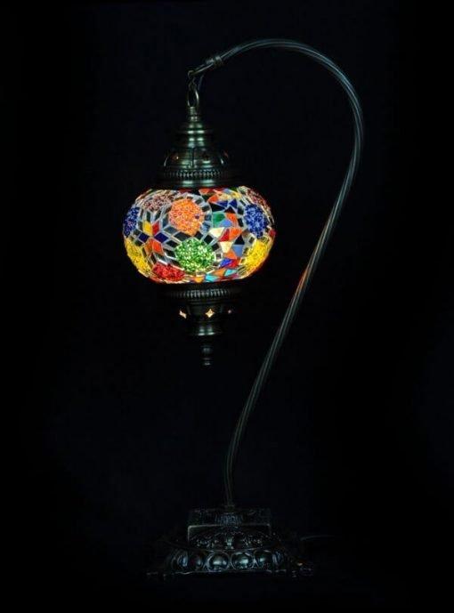 Turkse tafellamp multicolour - Lifestyle Trading