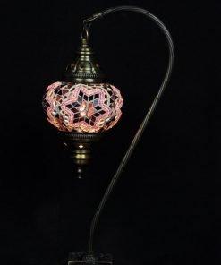 Turkse tafellamp paars - Lifestyle Trading