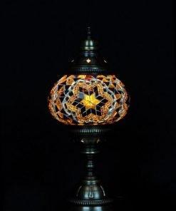 Türkische Tischlampe Braun - Lifestyle Trading