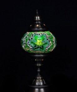 Türkische Tischlampe Grün - Lifestyle Trading
