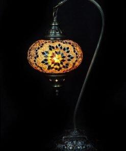 Turkse tafellamp bruin - Lifestyle Trading