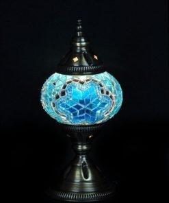 Turkse tafellamp turquoise - Lifestyle Trading