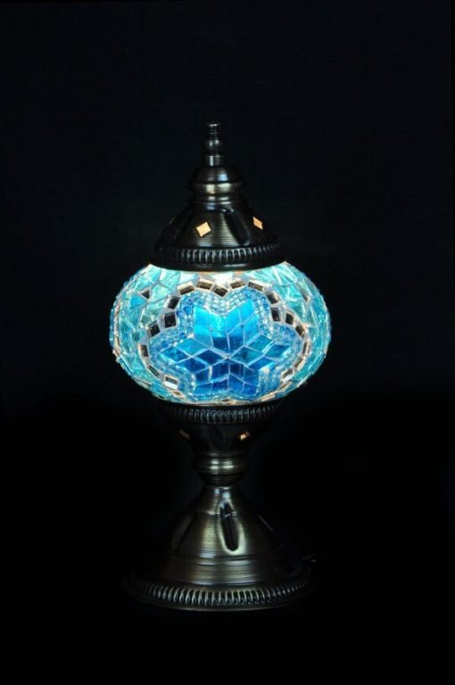 Türkische Tischlampe Türkis - Lifestyle Trading