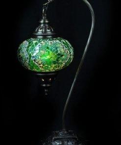 Turkse tafellamp groen - Lifestyle Trading